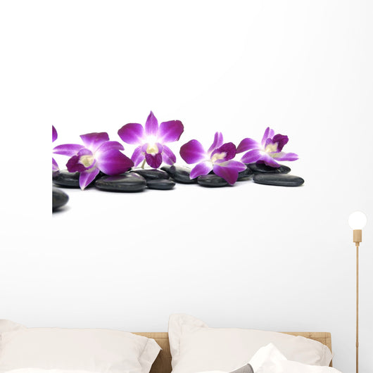 Orchid Flower Still Life Wall Decal
