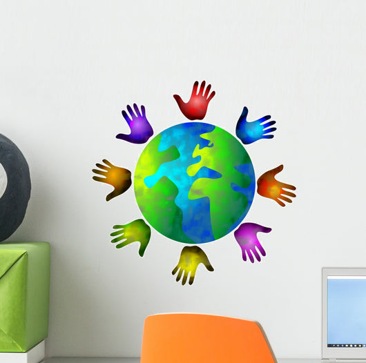 diverse world Wall Decal