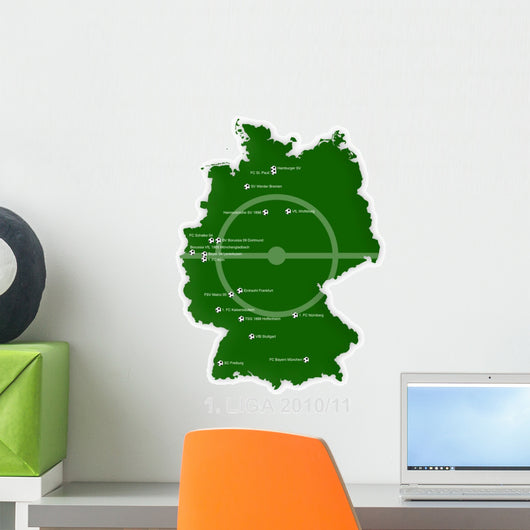 1st Bundesliga Wall Decal