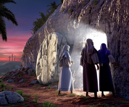 He is Risen Wall Mural