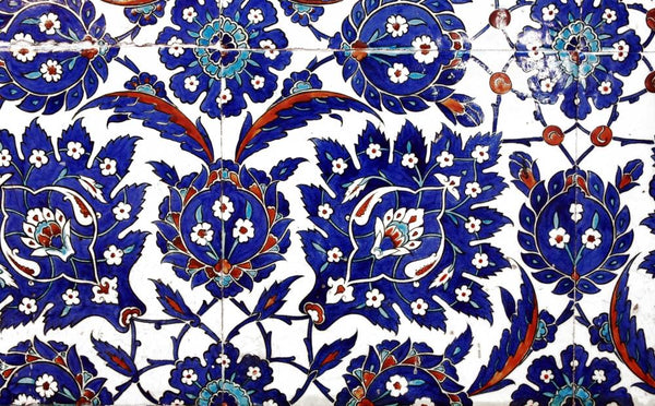 Ancient Handmade Turkish Tiles Wall Decal Wallmonkeys Com