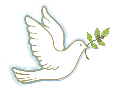 Peace Dove Wall Decal