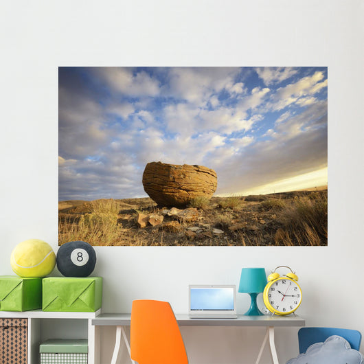 Red rock coulee in cypress hills provincial park;Alberta canada Wall Mural