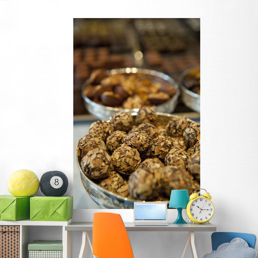 Belgium Chocolates For Sale Wall Mural
