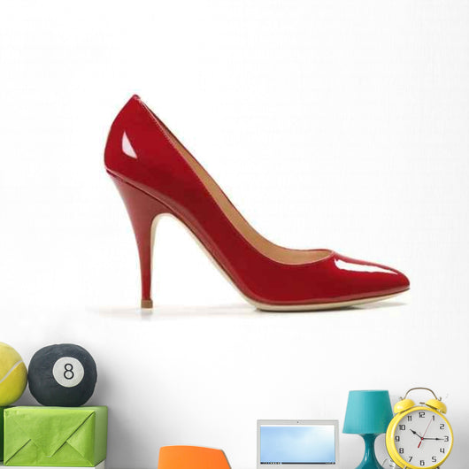 Sexy Red Shoe Wall Decal