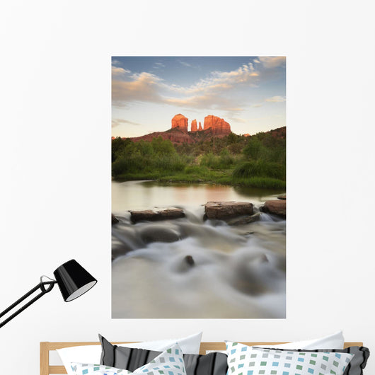 Cathedral Rock At Red Rock Crossing;Sedona Arizona Usa Wall Mural