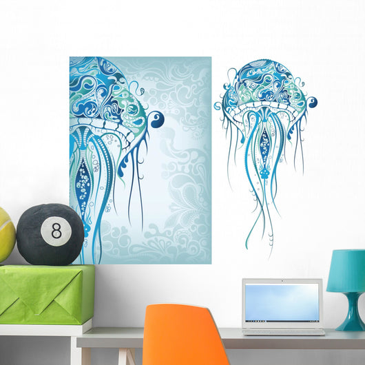 Jellyfish Wall Decal