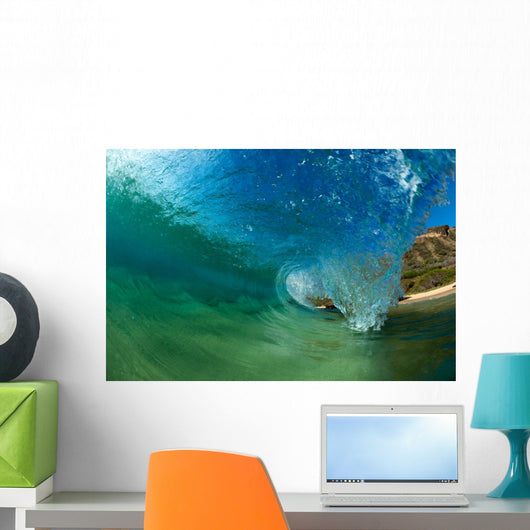 perfect wave Wall Mural