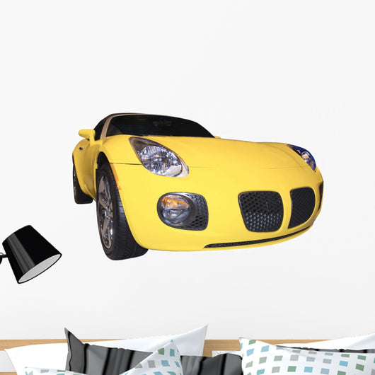 convertible sports car Wall Decal