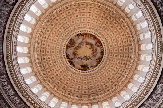 Us Capitol Dome Rotunda