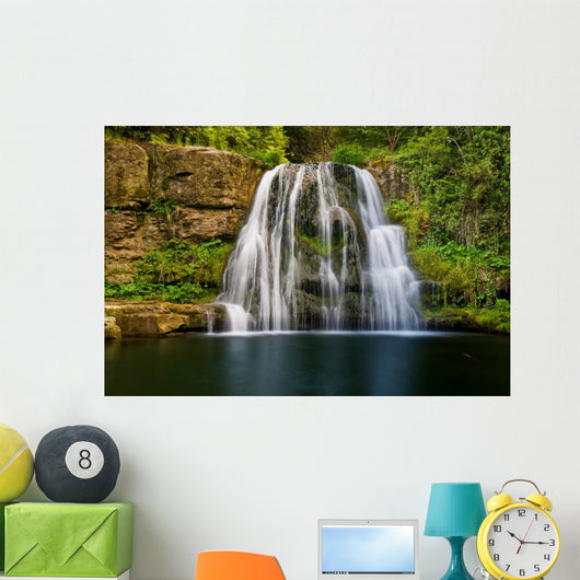 Waterfall Nature Shoot with Wall Mural