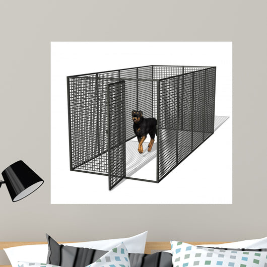 Dog Kennel Wall Decal