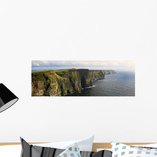 The cliffs of moher near doolin;County clare ireland Wall Mural