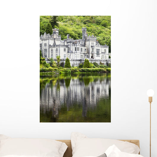 Kylemore abbey;County galway ireland Wall Mural