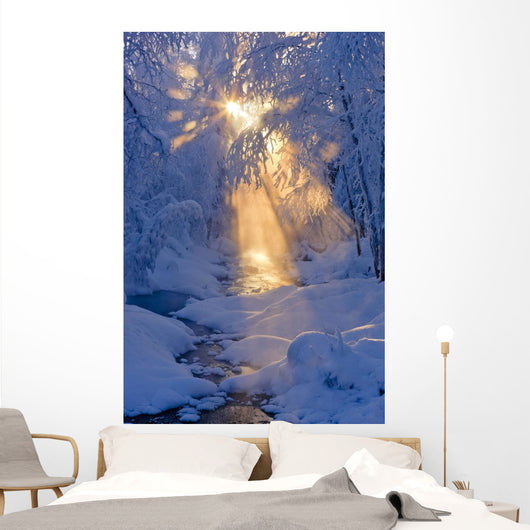 Small Stream Wall Mural