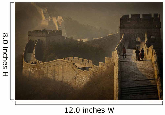 View Of Great Wall Wall Mural