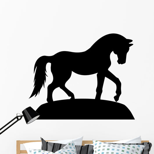 Horse Silhouette Wall Decal