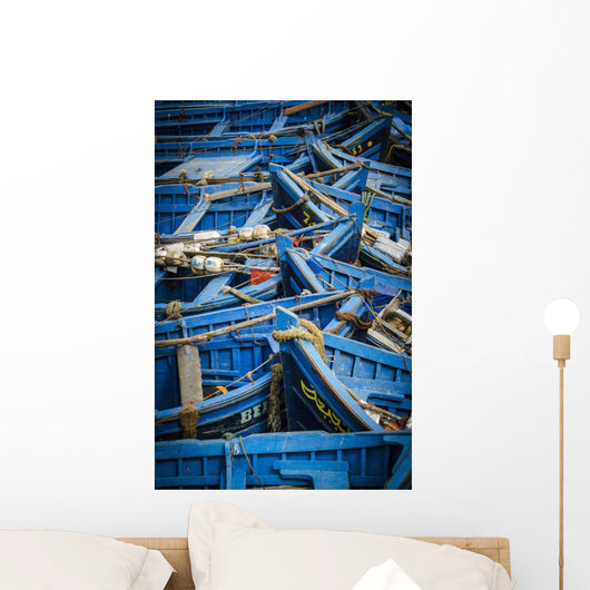 Fishing Boats Wall Mural