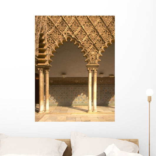 Alhambra Arches 1 Wall Mural
