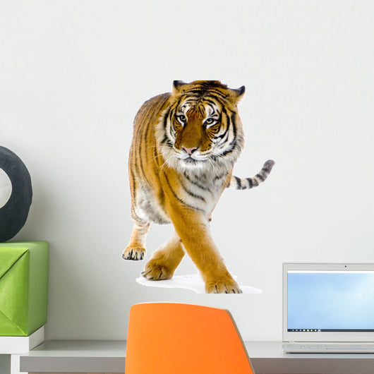 Standing Tiger Wall Decal