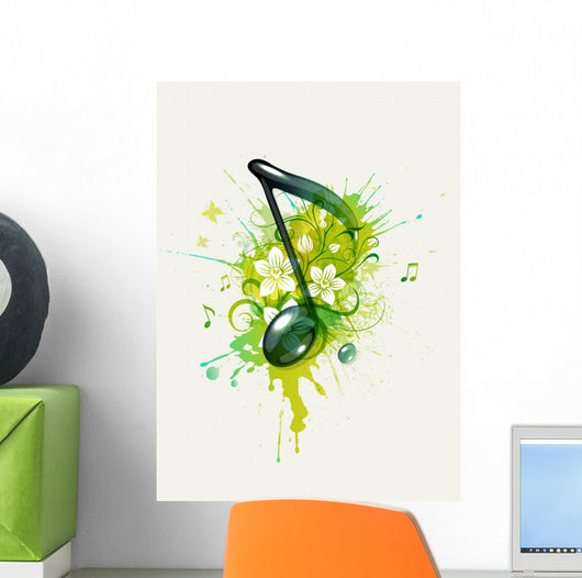 Musical note Wall Decal