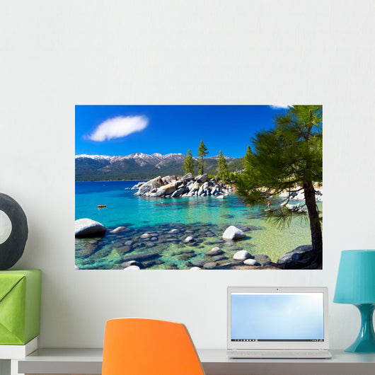 Sand Harbor Beach Lake Tahoe Nevada Wall Mural