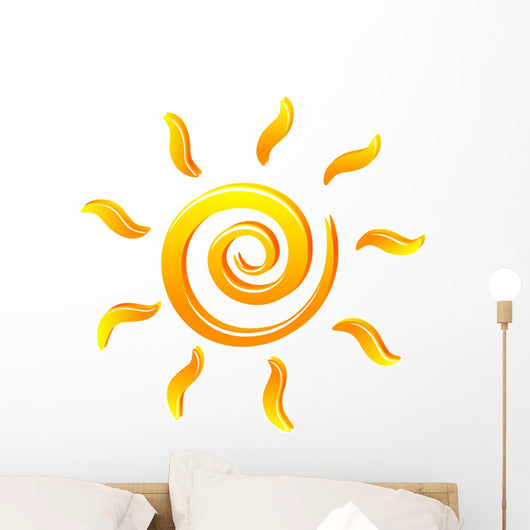 Sun Wall Decal