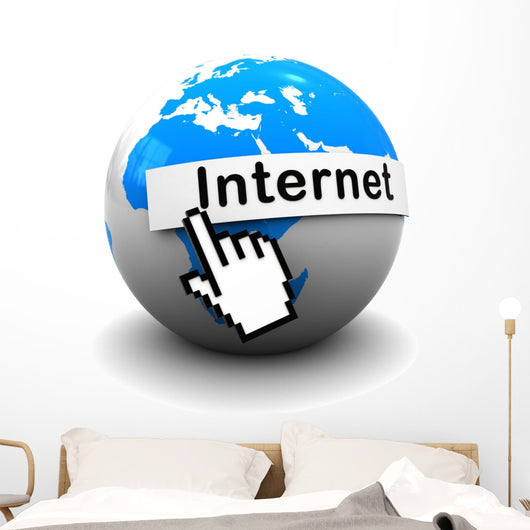 internet Wall Decal