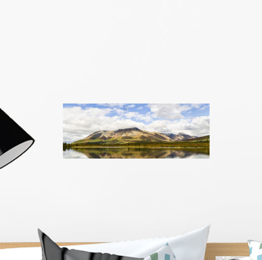 Composite Panorama Clearwater Mountains Wall Mural