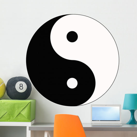 Yin and Yang Wall Decal