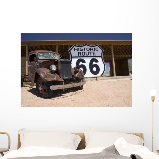 Route 66 Wall Mural