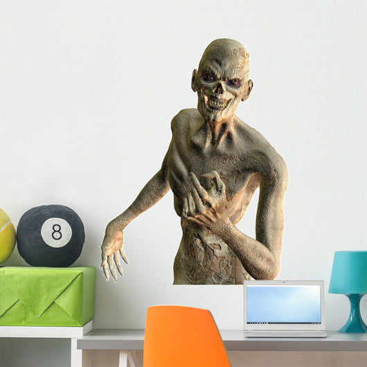 Friendly Zombie Wall Decal