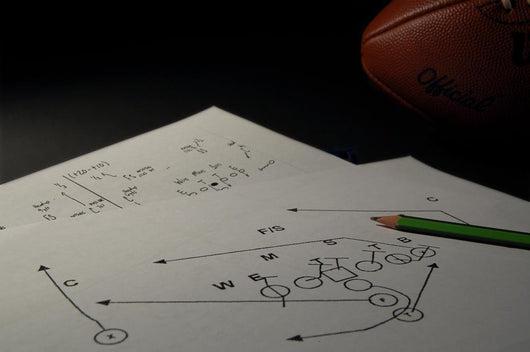 Offensive Playbook Wall Mural