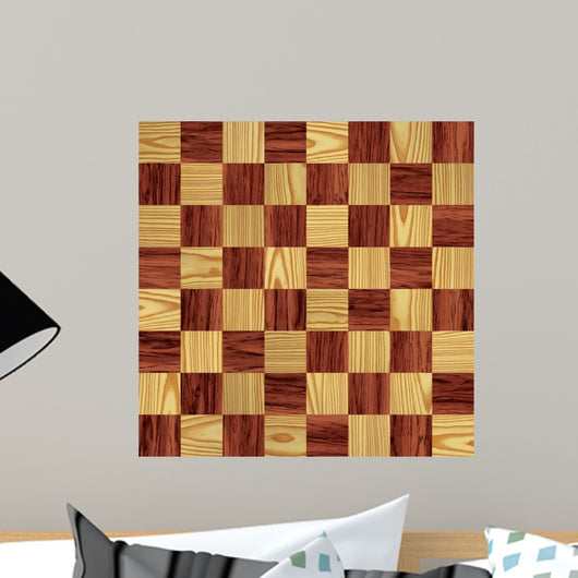 Checkerboard Wall Mural