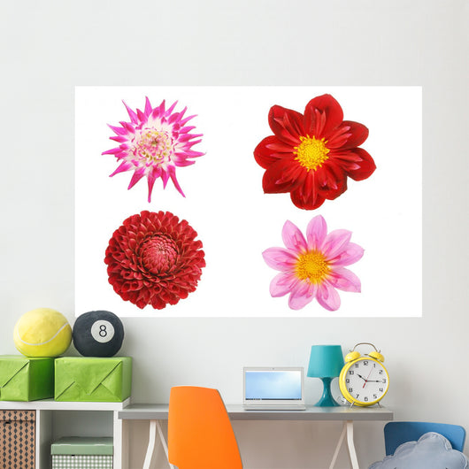 Dahlia Collection Wall Decal