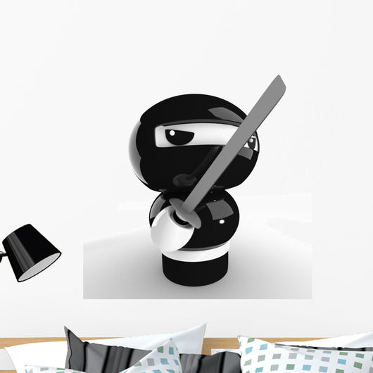 Ninja Wall Decal