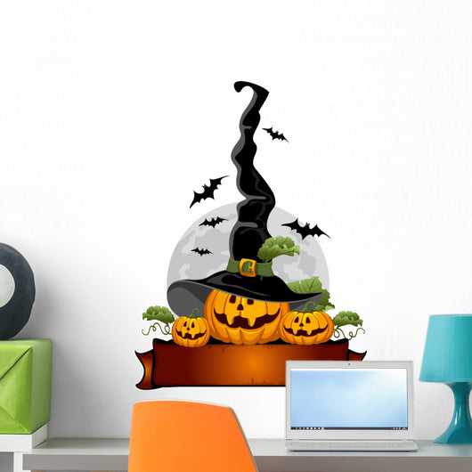 halloween pumpkin Wall Decal