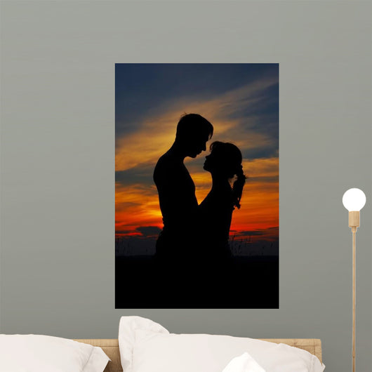 Loving Couple Wall Mural