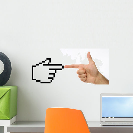technology concept Wall Decal