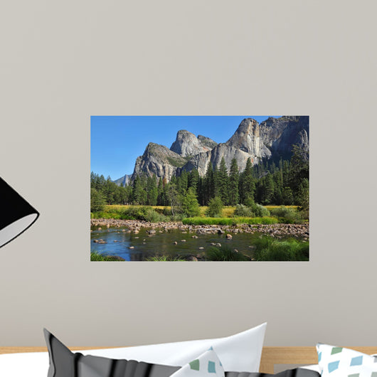 The Valley of the Merced River Wall Mural