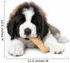 Saint Bernard Puppy Enjoying a Treat Wall Mural