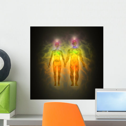 Human Energy Body Aura Wall Mural