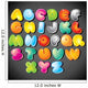 Alphabet Wall Decal Sticker Set