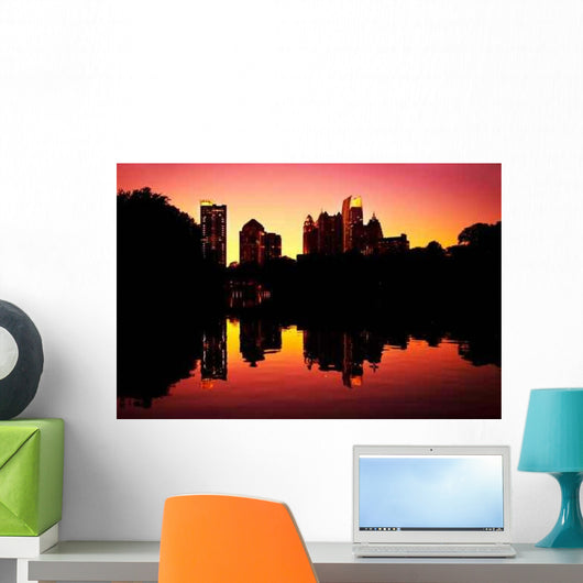 Sunset Midtown Reflection Clara Wall Decal