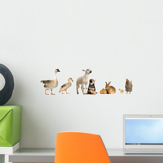 Farm Animals Wall Decal