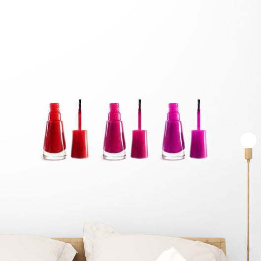 Nail Polish Wall Decal