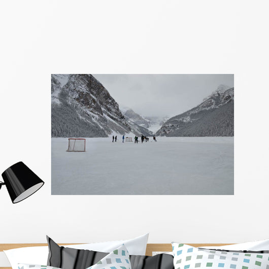 Canadian Ice Hockey Wall Decal