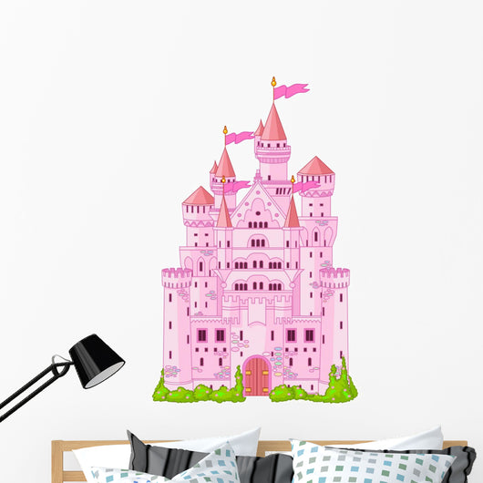 Magic Princess Castle Wall Decal