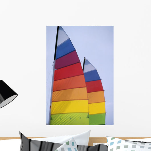 Colorful Sails Wall Mural
