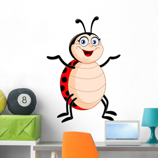 Lady Bug Wall Decal